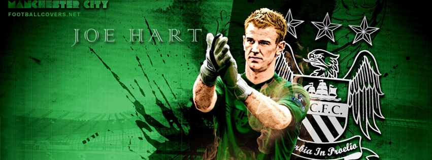 Joe Hart Manchester City FB Cover 2012 2013   Football FB Timeline