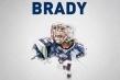 Tom Brady Patriots FB Cover