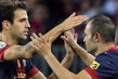 Fabregas and Iniesta Facebook Cover
