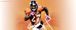 Knowshon Moreno Denver Broncos Facebook Cover