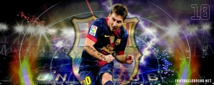 Messi 2013 Barcelona Facebook Cover Photo