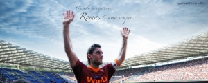 Francesco Totti Cover Photo for Facebook