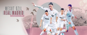 Mesut Ozil 2012 2013 Facebook Cover Photo