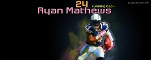 Ryan Mathews Chargers Facebook Cover