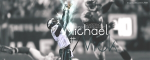 Michael VIck Eagles Facebook Cover