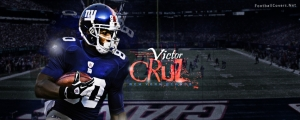 Victor Cruz New York Giants Cover Photo