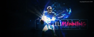 Eli Manning New York Giants FB Cover