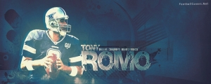 Tony Romo Dallas Cowboys Facebook Cover