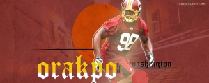 Brian Orakpo Redskins Facebook Cover