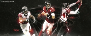 Turner, Ryan, White Atlanta Falcons FB Cover