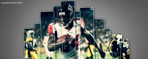 Roddy White Falcons Cover for Facebook