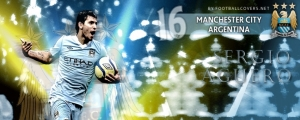 Sergio Aguero Facebook Cover Photo