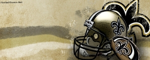 New Orleans Saints Helmet FB Cover