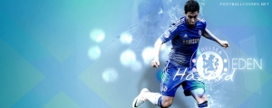 Eden Hazard Chelsea Facebook Cover Photo