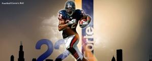 Matt Forte Chicago Bears Cover for Facebook