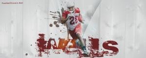 Beanie Wells Cardinals Facebook Cover