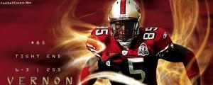 Vernon Davis 49ers Facebook Cover