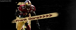 Frank Gore 49ers Facebook Cover