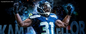 Kam Chancellor Seattle Seahawks Cover for Facebook