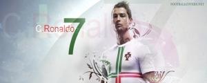 Cristiano Ronaldo 2012 FB Timeline Cover