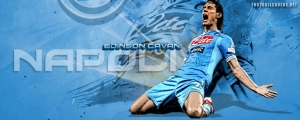 Edinson Cavani Napoli FB Cover
