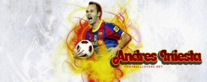 Andres Iniesta FB Cover