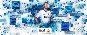 Cover Facebook Real Madrid Tour 2012