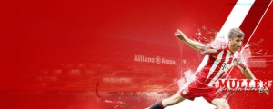 Thomas Muller Bayern Munich FB Cover Photo