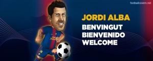 Cover FB Timeline Jordi Alba Barcelona