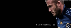 David Beckham LA Galaxy FB Cover