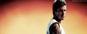 David Beckham Hairstyle FB Cover