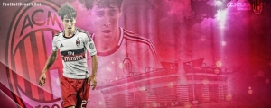 Bojan Krkić AC Milan FB Cover