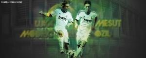 Mesut Ozil Luka Modric FB Cover