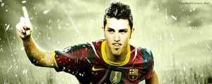 David Villa Facebook Cover