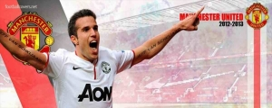 Robin Van Persie Man United FB Covers