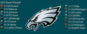 Philadelphia Eagles Schedule Facebook Cover