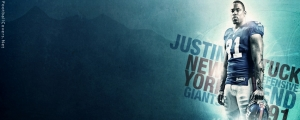 Justin Tuck Facebook Cover Photo