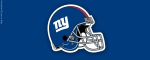 New York Giants Helmet Facebook Cover Photo