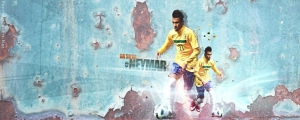 Neymar Facebook Cover Photo