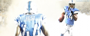 Jahvid Best Detroit Lions Facebook Cover