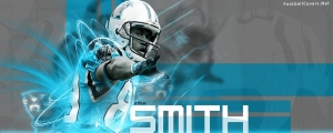 Steve Smith Carolina Panthers Facebook Cover