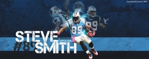 Steve Smith Carolina Panthers Facebook Cover Photo