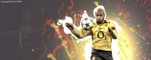 Thierry Henry Arsenal Facebook Cover Photo