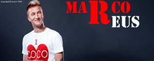 Marco Reus Modeling Facebook Cover Photo