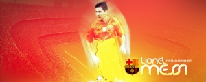 Lionel Messi Barcelona 2013 FB Cover Photo